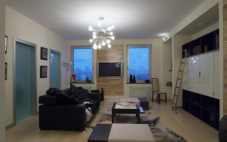 Фото № 10194 гостиная  Квартира