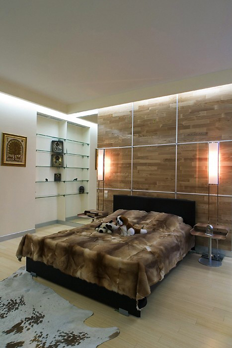 интерьер спальни - фото № 10192