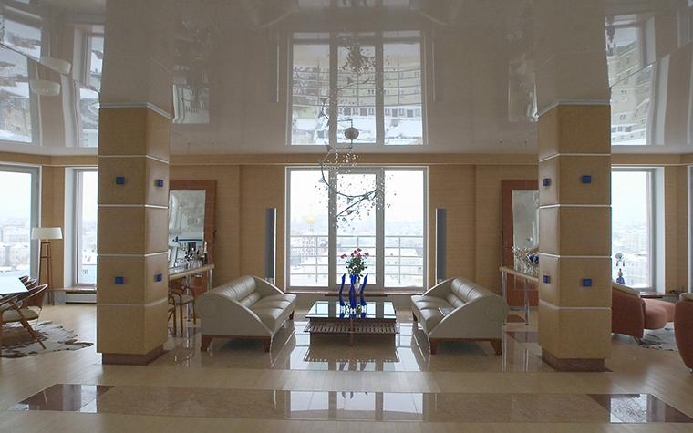 Фото № 10134 гостиная  Квартира