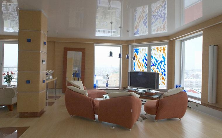 Фото № 10136 гостиная  Квартира