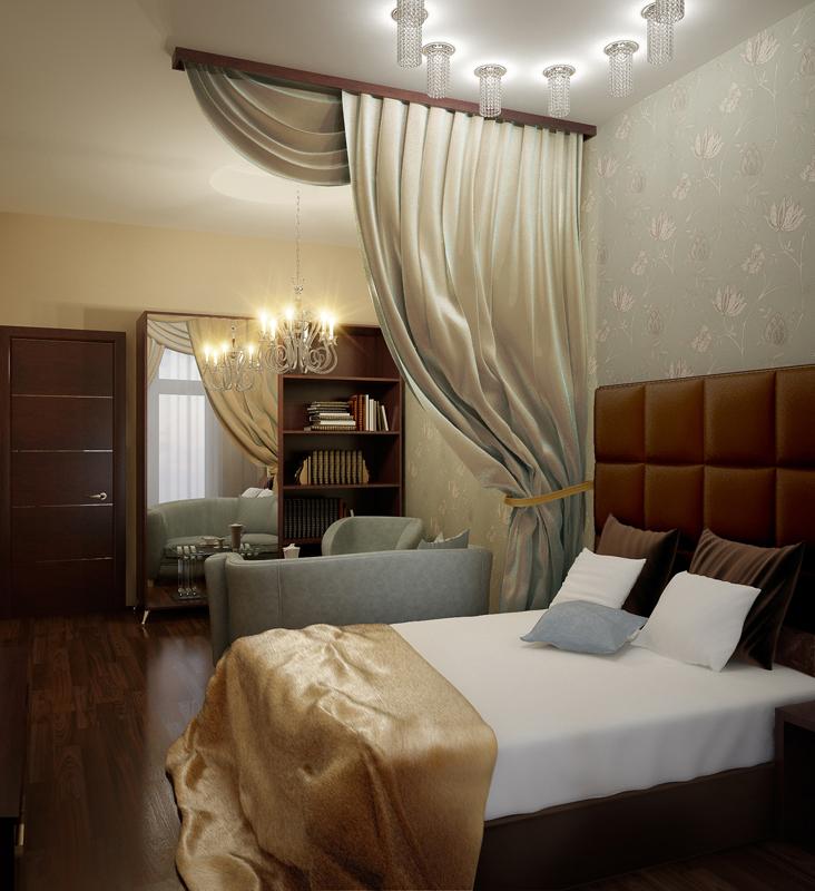 Фото № 10349 спальня  Квартира