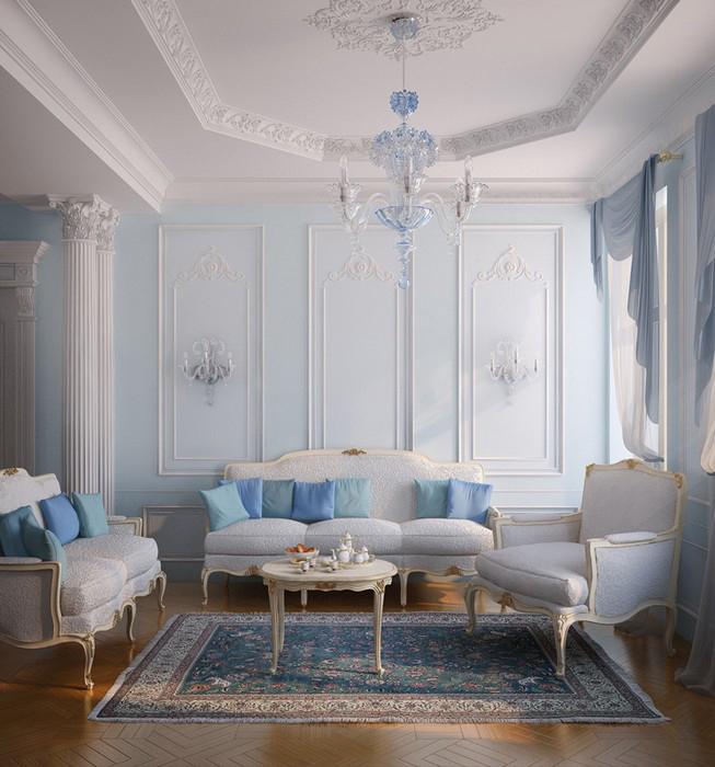 интерьер гостиной - фото № 10353