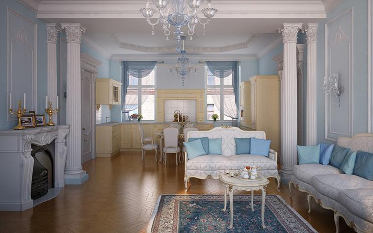 интерьер гостиной - фото № 10354