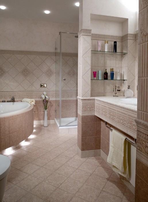 Фото № 10372 ванная  Квартира