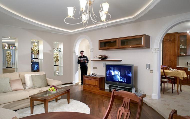 Фото № 10373 гостиная  Квартира