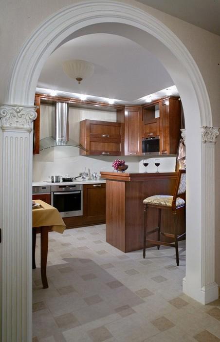 Фото № 10374 кухня  Квартира