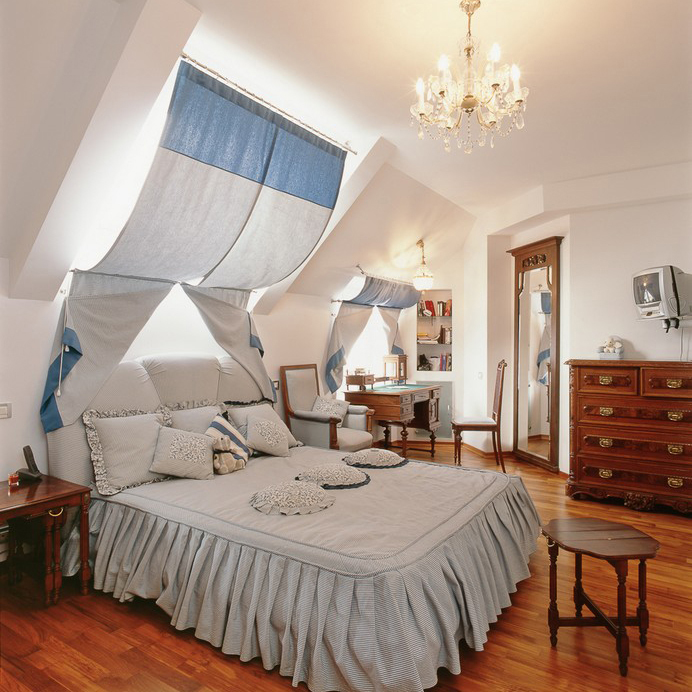 Квартира. спальня из проекта , фото №10433