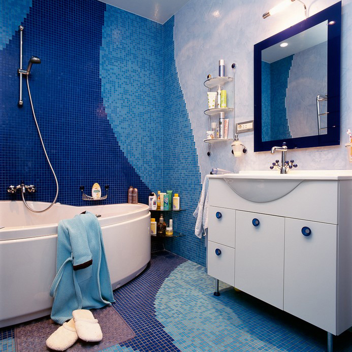 Квартира. ванная из проекта , фото №10426