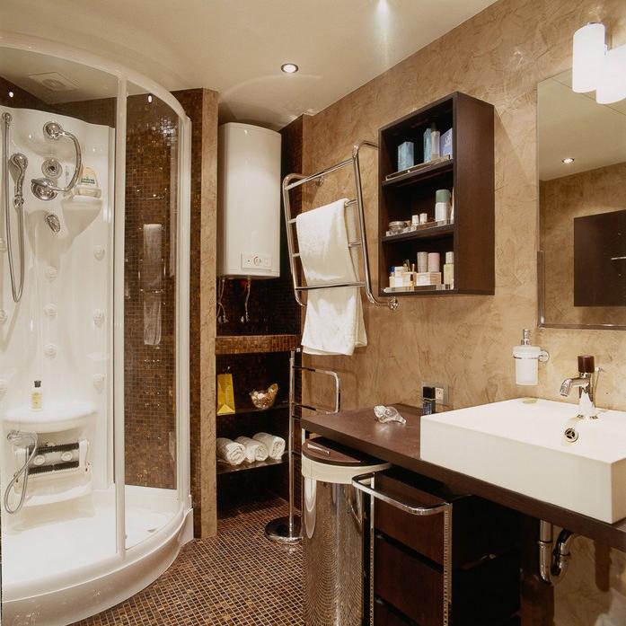 Квартира. ванная из проекта , фото №10427