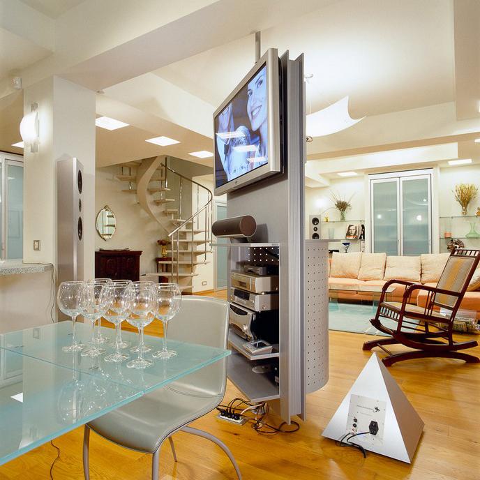 Квартира. гостиная из проекта , фото №10429