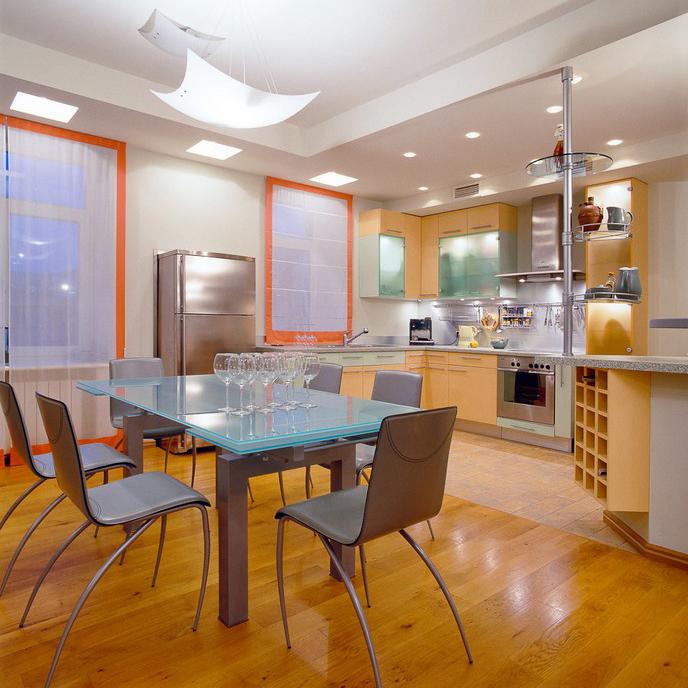 Квартира. кухня из проекта , фото №10425
