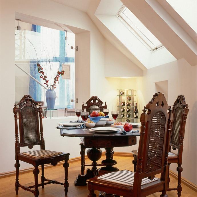 Квартира. столовая из проекта , фото №10432
