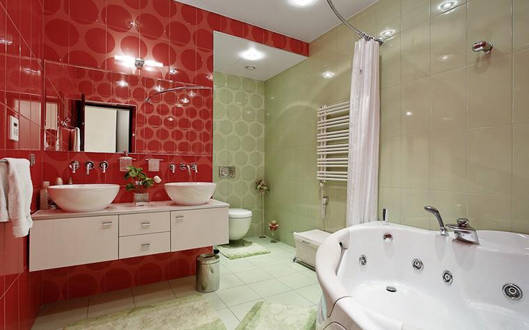Квартира. ванная из проекта , фото №10495