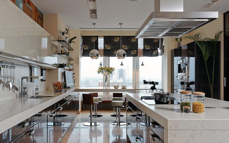 Квартира. кухня из проекта , фото №10488