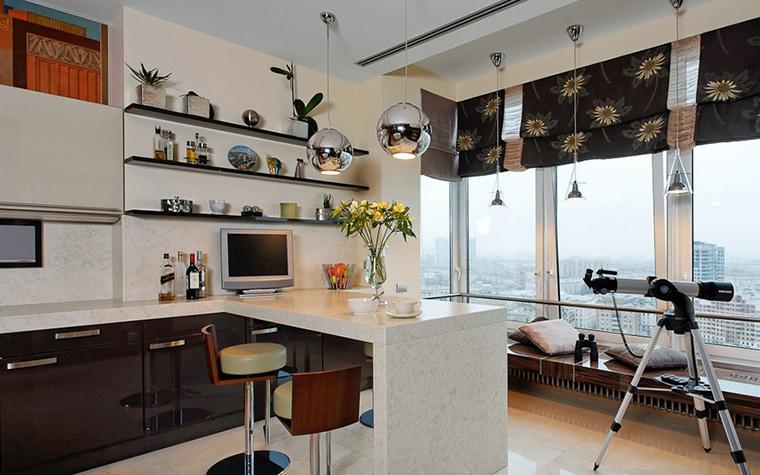 Квартира. кухня из проекта , фото №10489