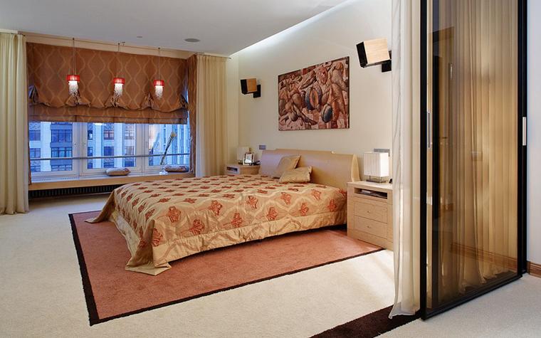 Квартира. спальня из проекта , фото №10490