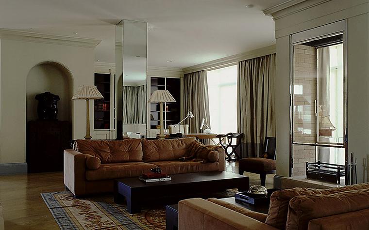 интерьер гостиной - фото № 9468