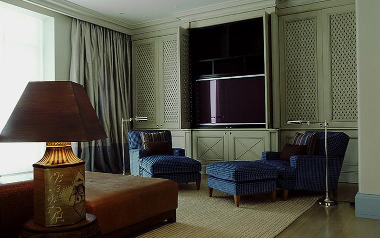 Квартира. гостиная из проекта , фото №9523