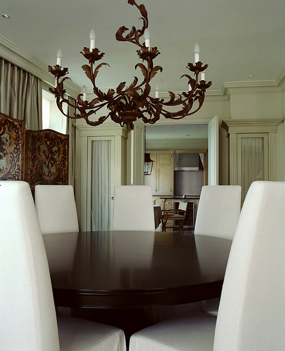 Квартира. столовая из проекта , фото №9476