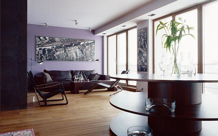 Квартира. гостиная из проекта , фото №125