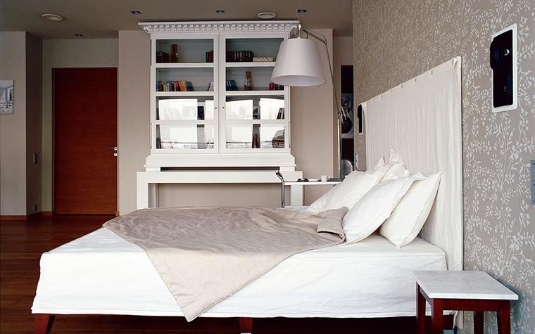 интерьер спальни - фото № 130
