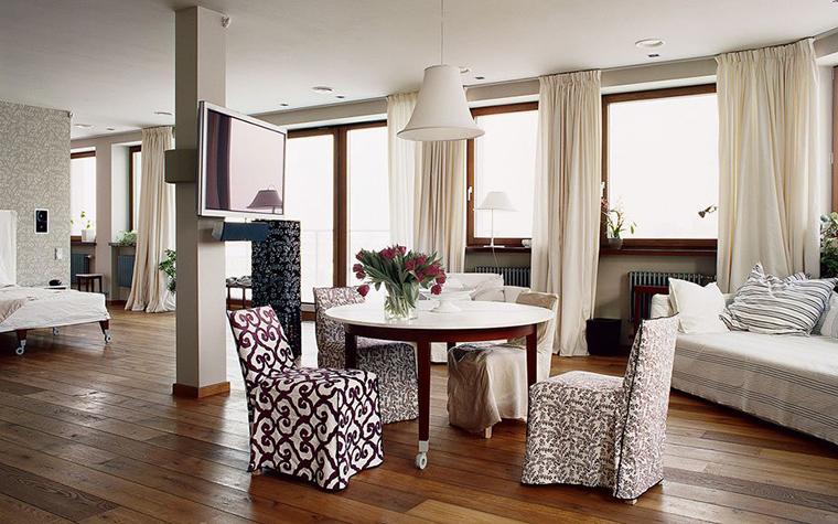 интерьер столовой - фото № 132