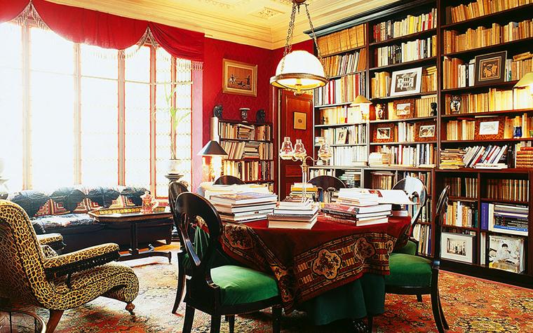 Квартира. библиотека из проекта , фото №1537