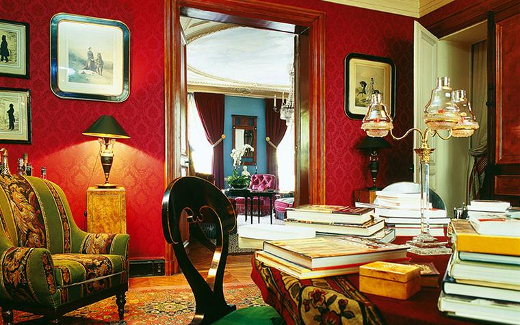 Квартира. библиотека из проекта , фото №1538