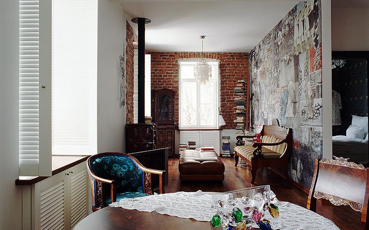 Квартира. кухня из проекта , фото №10218