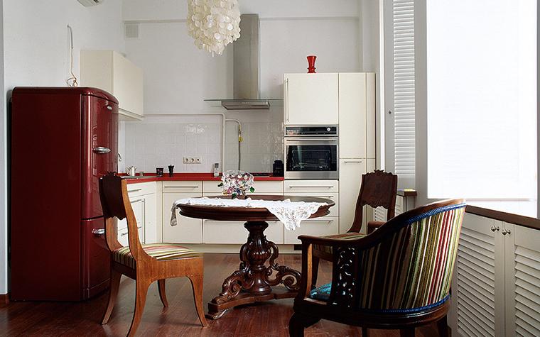 Квартира. кухня из проекта , фото №10220