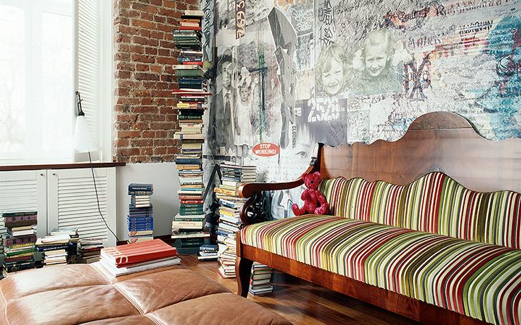Квартира. гостиная из проекта , фото №10212