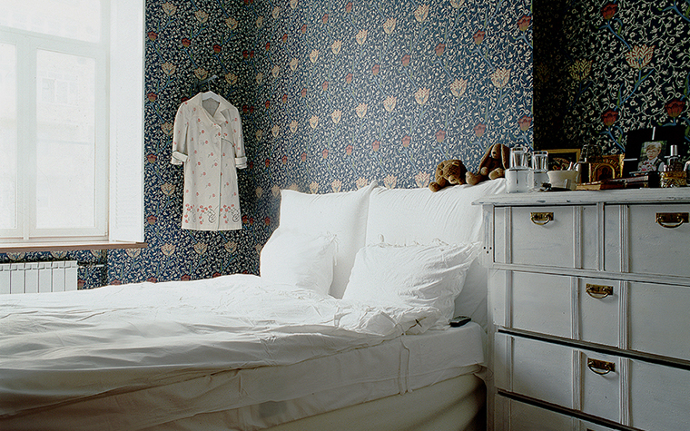 Квартира. спальня из проекта , фото №10215