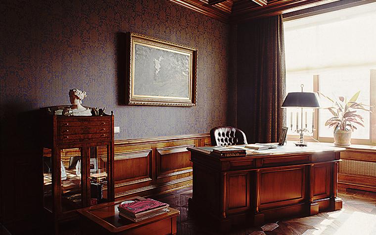Фото № 10469 кабинет библиотека  Квартира
