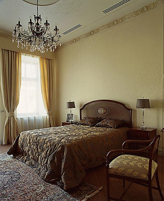 Фото № 10470 спальня  Квартира