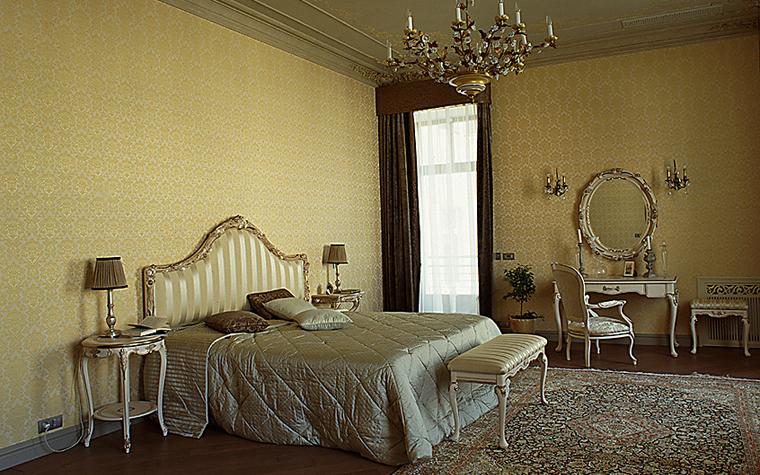 интерьер спальни - фото № 10471