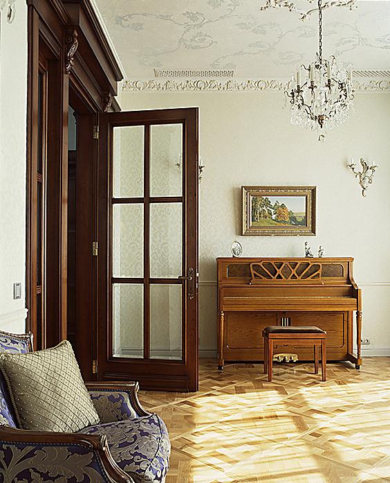 Фото № 10476 гостиная  Квартира