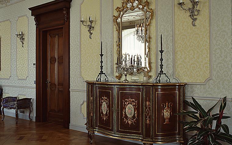 интерьер гостиной - фото № 10475