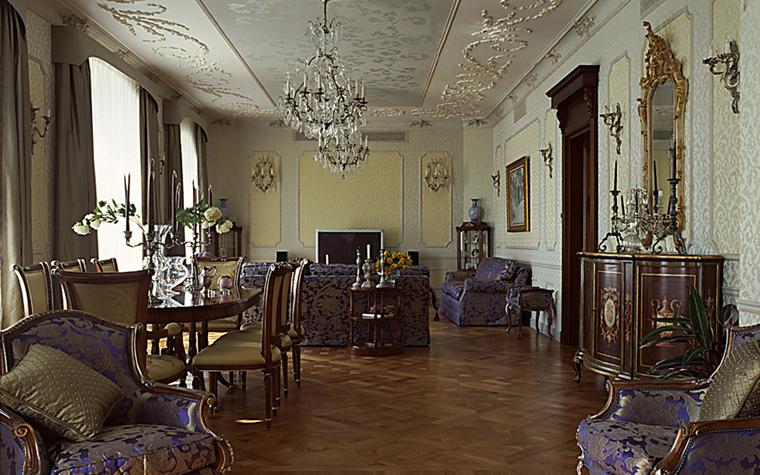 интерьер гостиной - фото № 10459