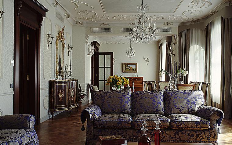 интерьер гостиной - фото № 10461
