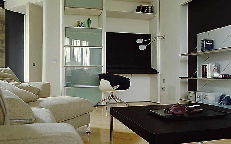интерьер гостиной - фото № 9985