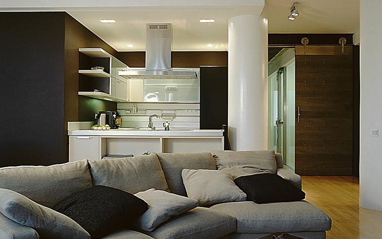 интерьер гостиной - фото № 9986