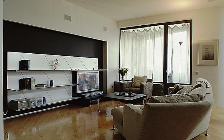 интерьер гостиной - фото № 9988