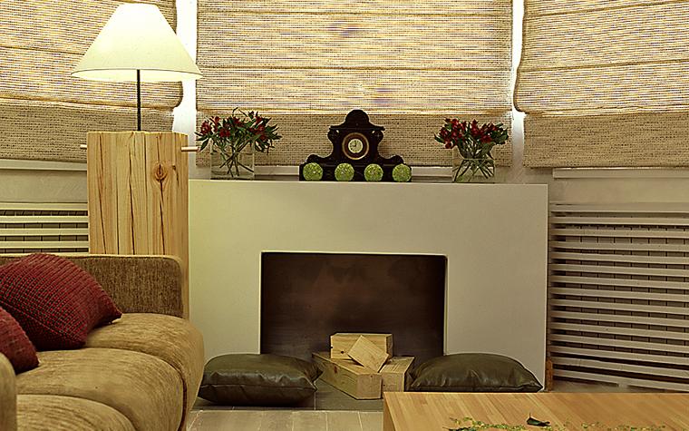 Фото № 10281 гостиная  Квартира
