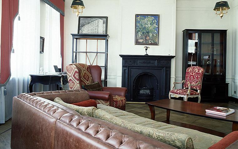 интерьер гостиной - фото № 10387