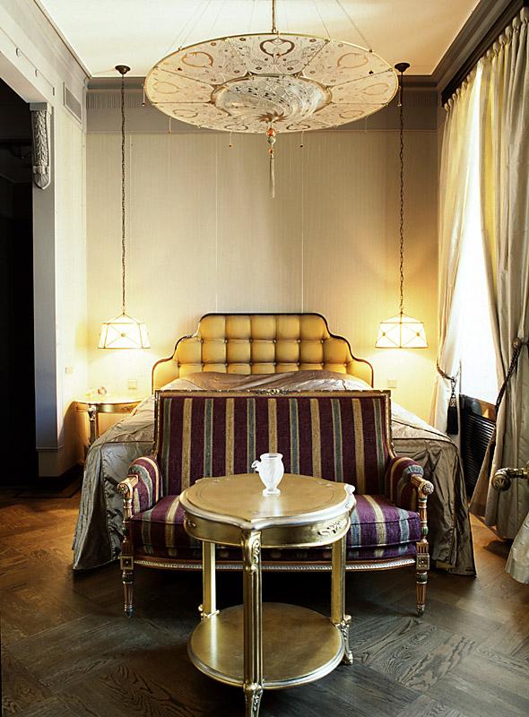 интерьер спальни - фото № 10406