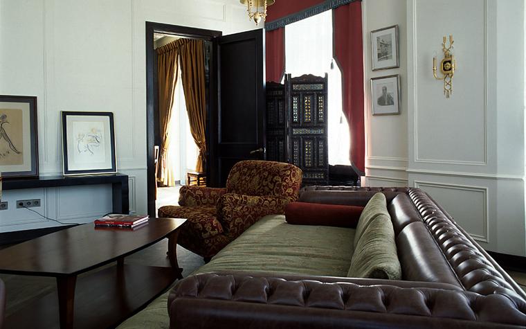 интерьер гостиной - фото № 10388