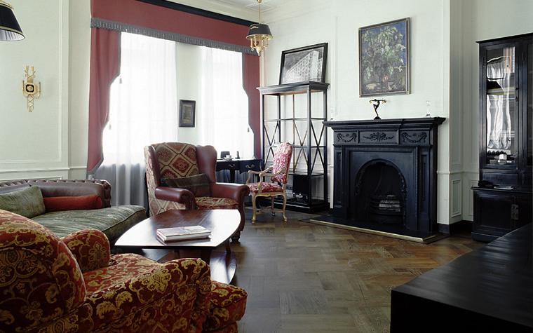интерьер гостиной - фото № 10389