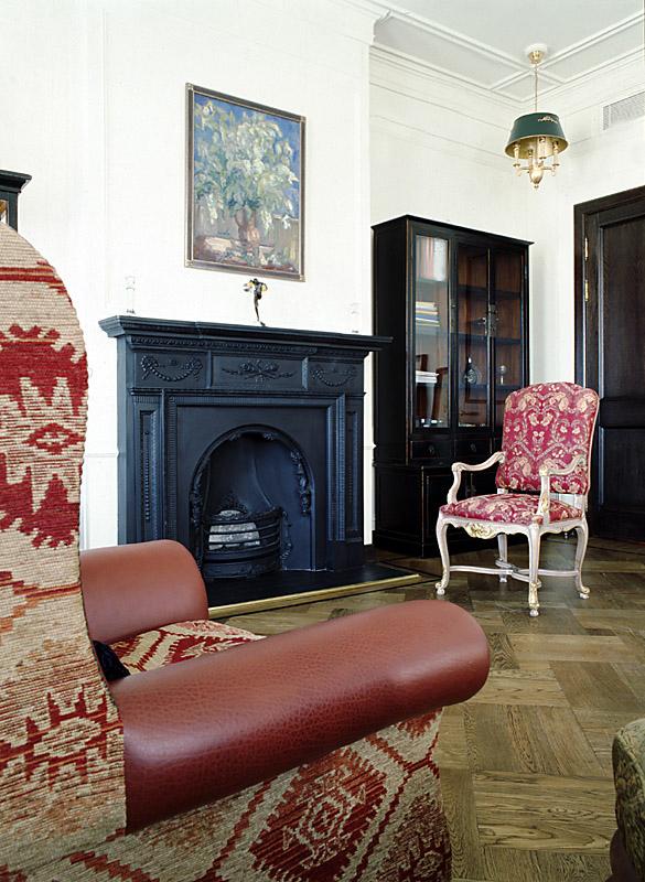 интерьер гостиной - фото № 10390