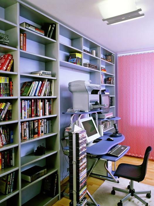 интерьер кабинета - фото № 517