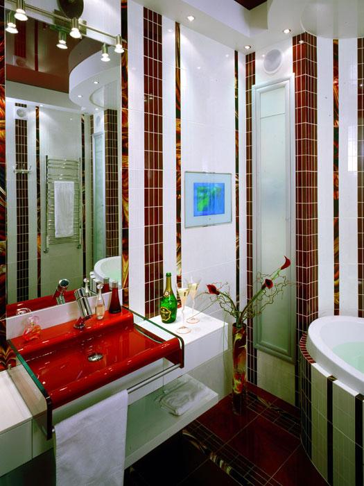 Квартира. ванная из проекта , фото №1473